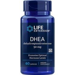 DHEA 50mg 60 Cápsulas Grau Farmacêutico Life Extension