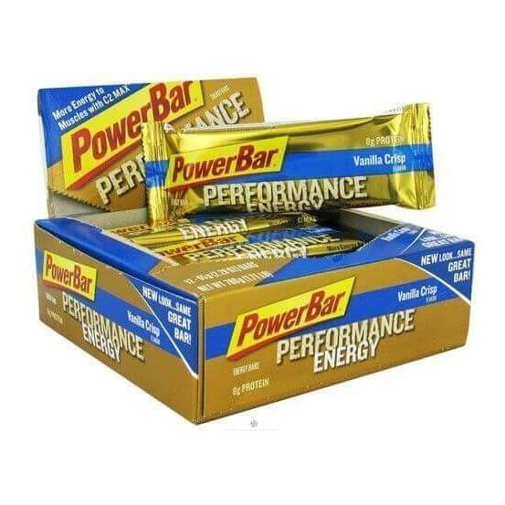 Powerbar, Performance Energy,12 Barras, 65g, Baunilha Crocante