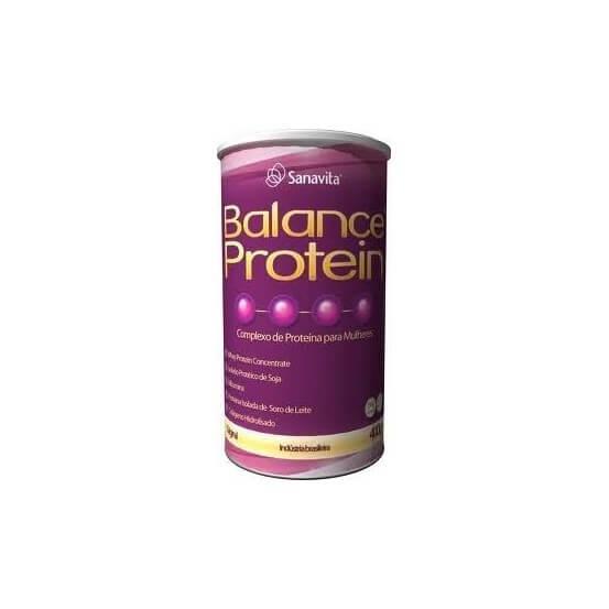 Balance protein para mulheres 400gr baunilha Sanavita 789813254179