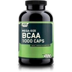 BCAA Mega-Size 1000 400 Cápsulas Optimum Nutrition