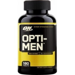 Opti-men 180 comprimidos Optimum nutrition 748927024920