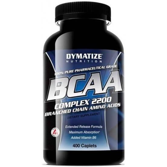 BCAA complex 2200 400 comprimidos dymatize 705016381401