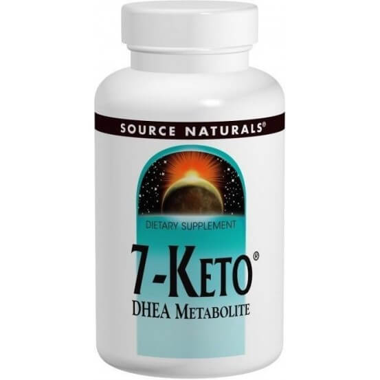 7-Keto DHEA 50mg 60 Comprimidos Source Naturals