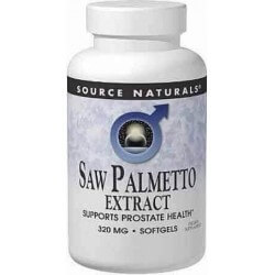 Saw Palmetto 320mg 120 Softgels Source Naturals