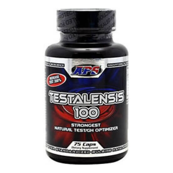 APS Testalensis 100 natural test/GH optimizer 75 capsulas 649241909101