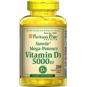 Vitamina D3 5000 Ui 200 softgels Puritan's Pride 25077306855