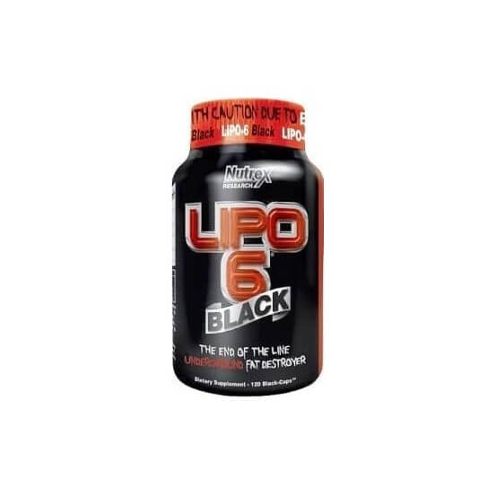 Lipo 6 Black 120 Cápsulas Nutrex Research Labs